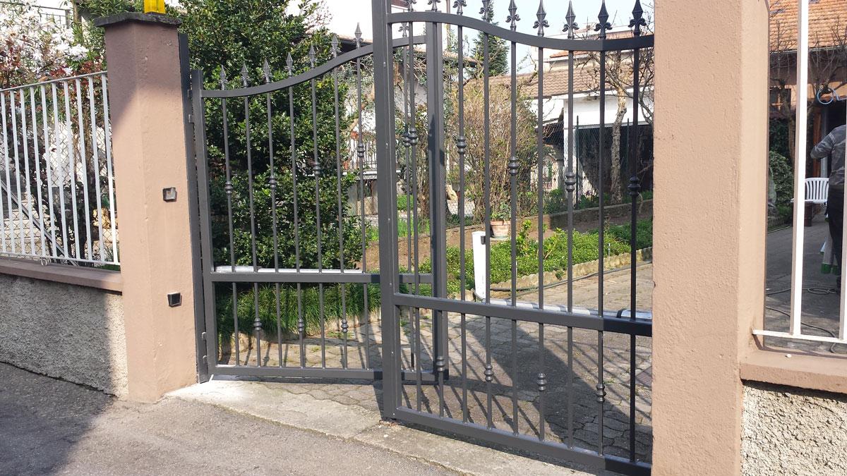 Recinzione Giardino In Ferro cancelli, recinzioni e ringhiere   inoxfer carpenteria snc